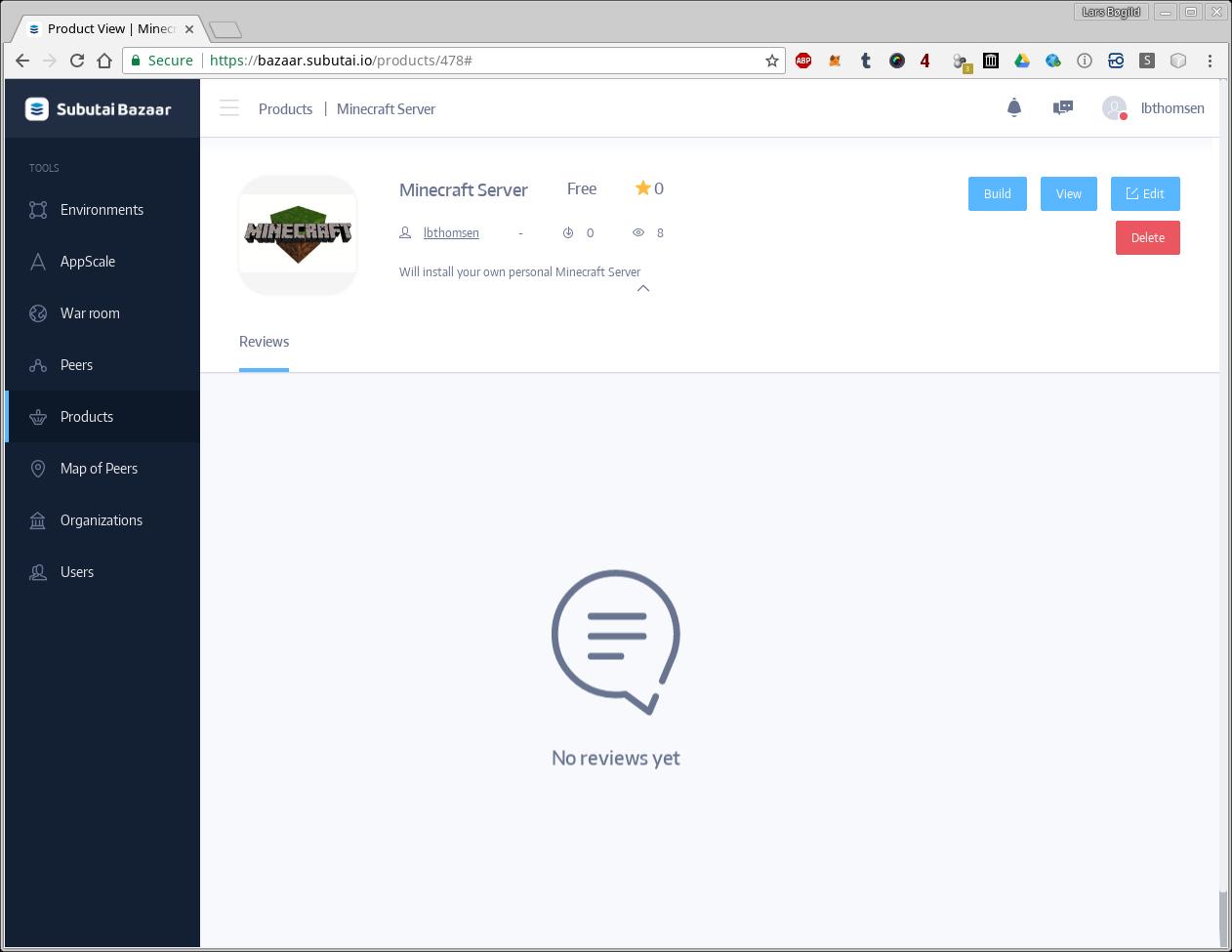Personal Minecraft Server on Subutai – Lars' Site